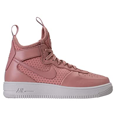 the best attitude f4cf8 81577 Nike - Air Force 1 Ultrafrce Mid Fif Femme, Rose (Particle Pink Particle