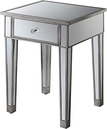 Convenience Concepts Gold Coast Mirrored End Table Review