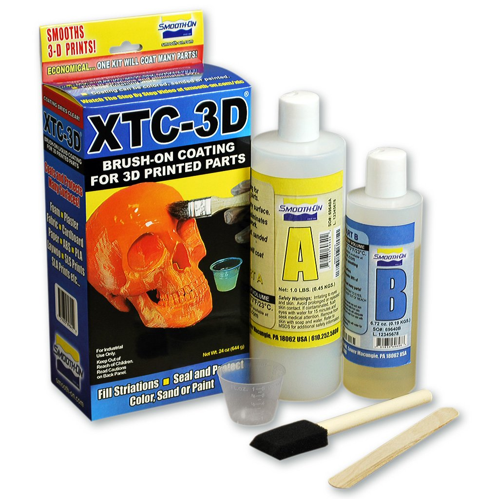 Smooth-On XTC-3D High Performance 3D Print Coating - 24oz. Unit Inc.