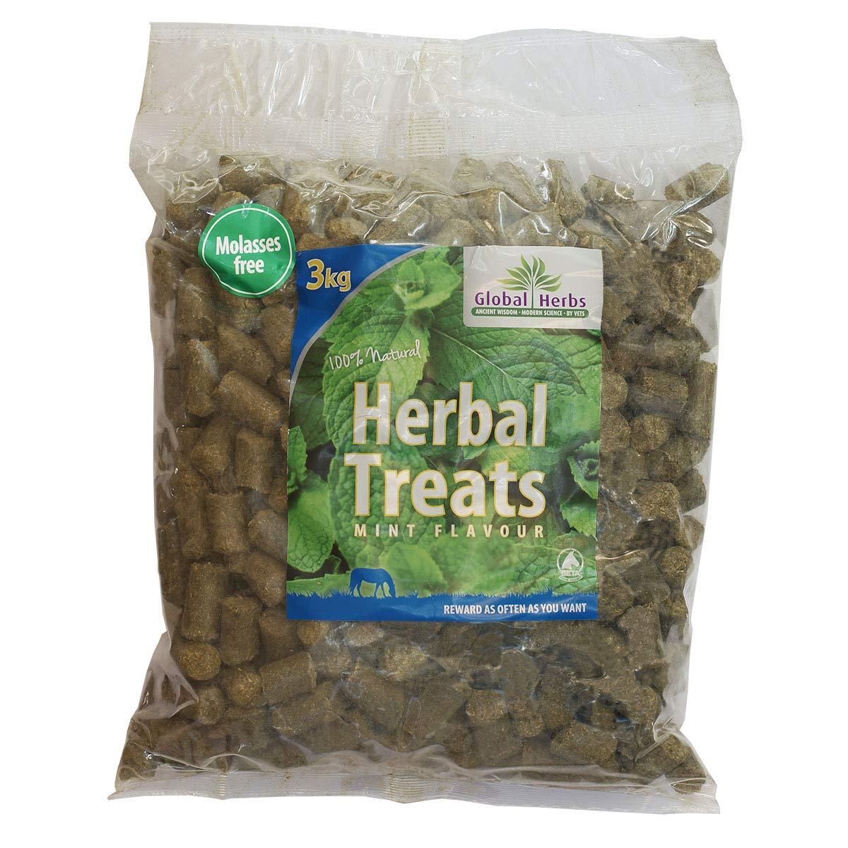 Global Herbs Herbal Mint 3kg Horse Treats 3kg Brown