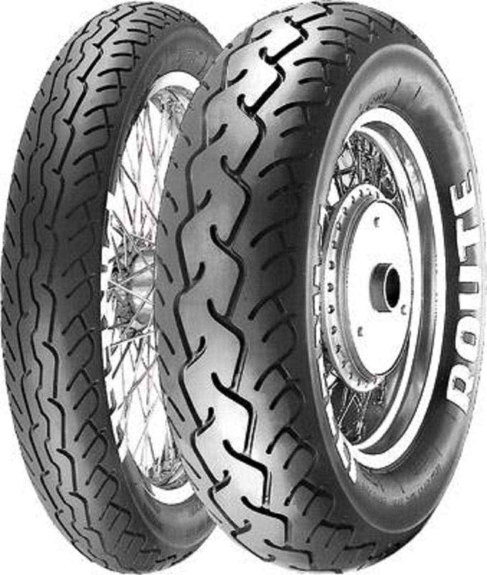 Pirelli MT66-Route Cruiser Motorcycle Tire - 130/90-16 Black, 67H / Front 4333046472