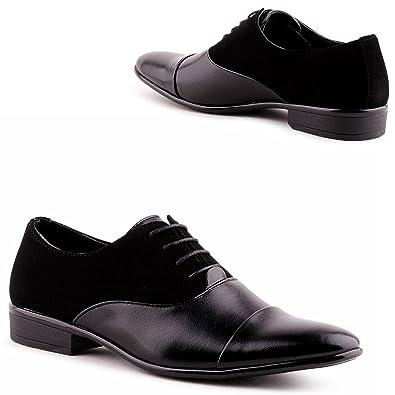 uk availability d618d cd2c3 IL Shoes Herren Business Lackschuhe Anzug Tanz Schnür Schuhe ...