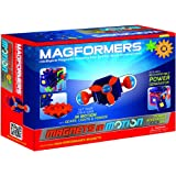 Magformers Magnets in Motion Power Accessory Set (27-Pieces) Magnetic Building Blocks, Educational Magnetic Tiles Kit , Magne