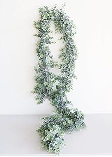 Artificial Frosted Eucalyptus Garland