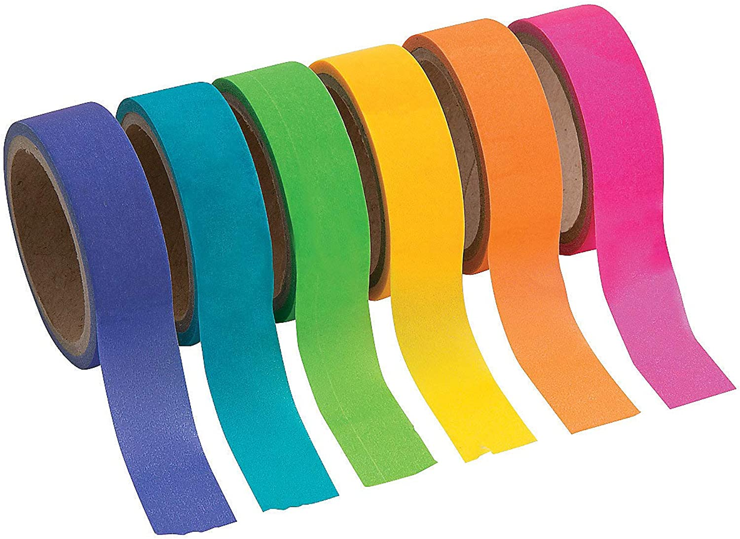 Crafts for Kids and Fun Home Activities Neon Washi Tape
