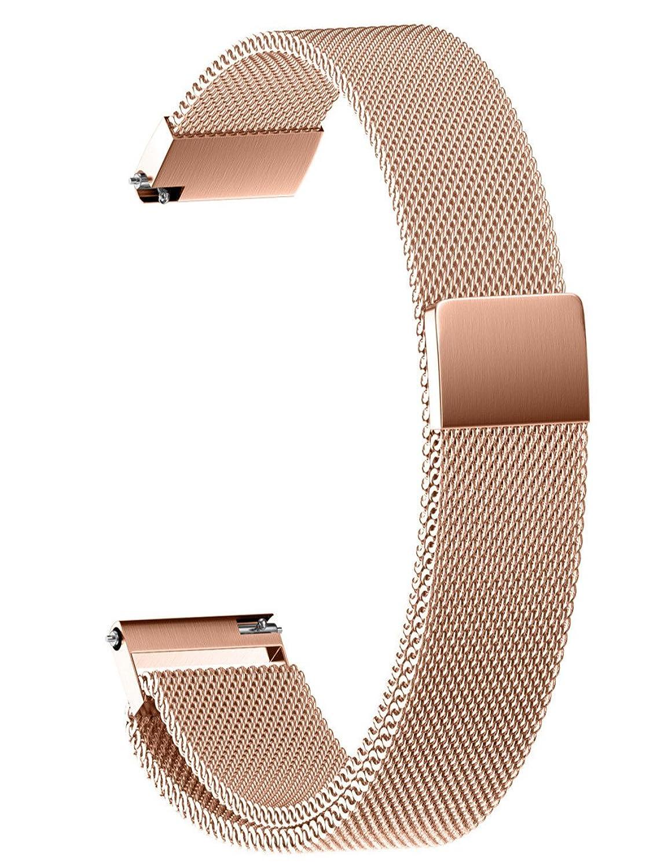Dreaman Milanese磁気ループステンレススチール時計ストラップバンド22 /20 /18 /16 /14 mm 22MM マルチカラー 22MM   B075R1KPYY