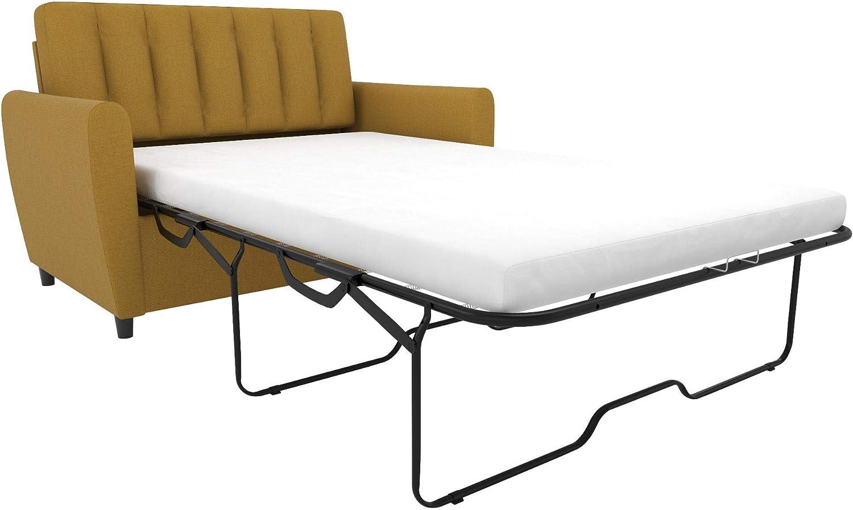 - Amazon.com: Novogratz Brittany Sleeper Sofa With Memory Foam