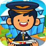 Best Beansprites LLC Game Apps - My Pretend Airport - Kids Travel Town Review