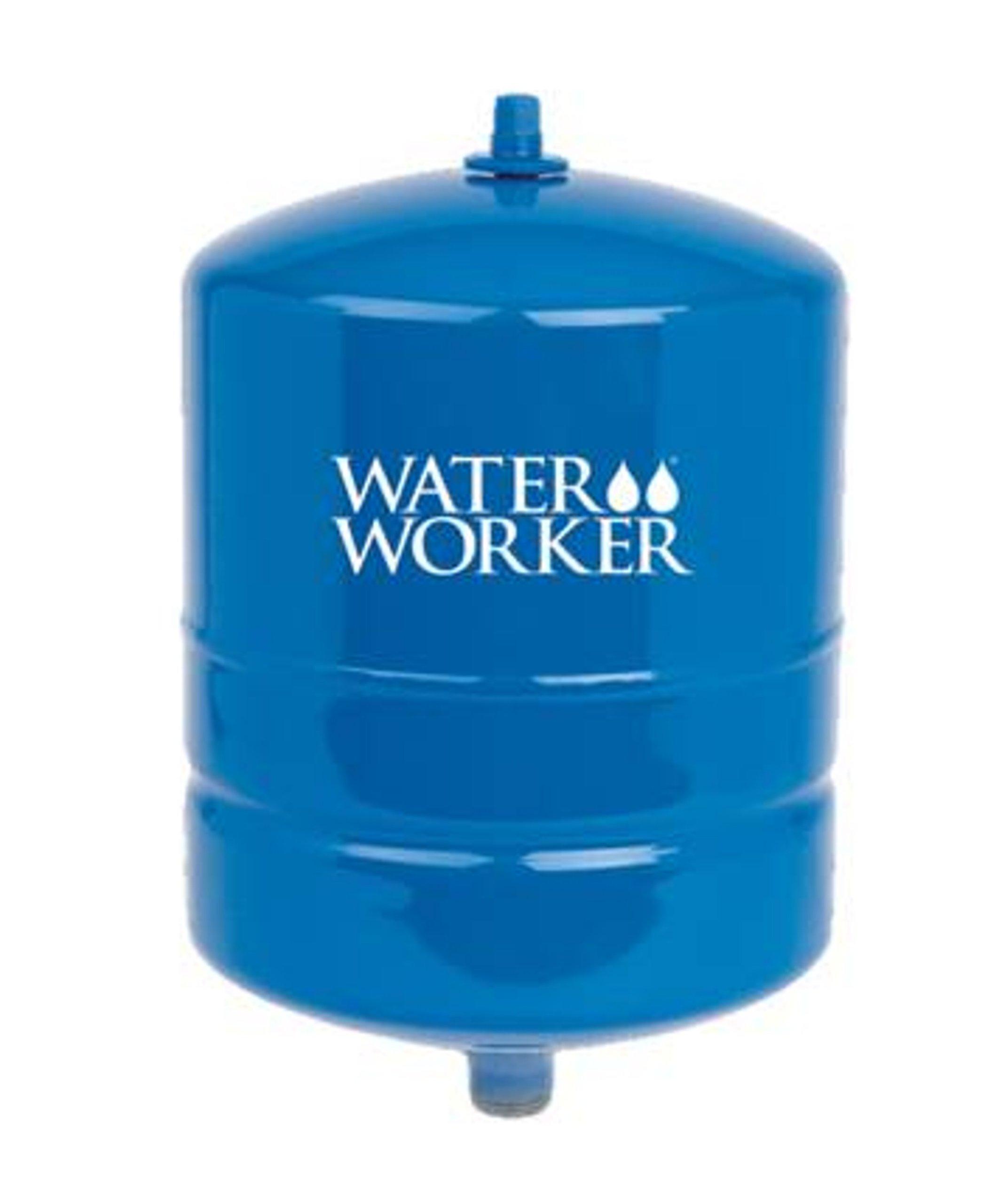 WaterWorker HT-2B Water Worker Vertical Pre-Charged Well Tank, 20 Gal, 3/4 In Mnpt, 100 Psi, Steel, 2-Gallon by Water Worker