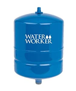 WaterWorker HT-2B Water Worker Vertical Pre-Charged Well Tank, 20 Gal, 3/4 In Mnpt, 100 Psi, Steel, 2-Gallon