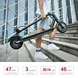 TOMOLOO Electric Scooter, Ultra-Lightweight Folding