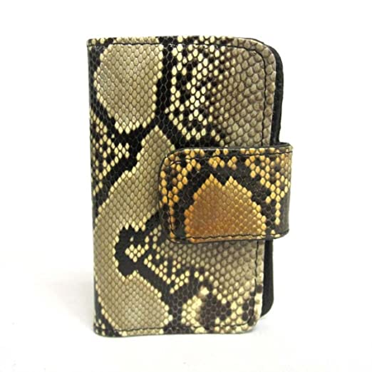 Amazon.com  Genuine Real Python Skin Key Chain Wallet Fashion Coin ... 7a11fc8868