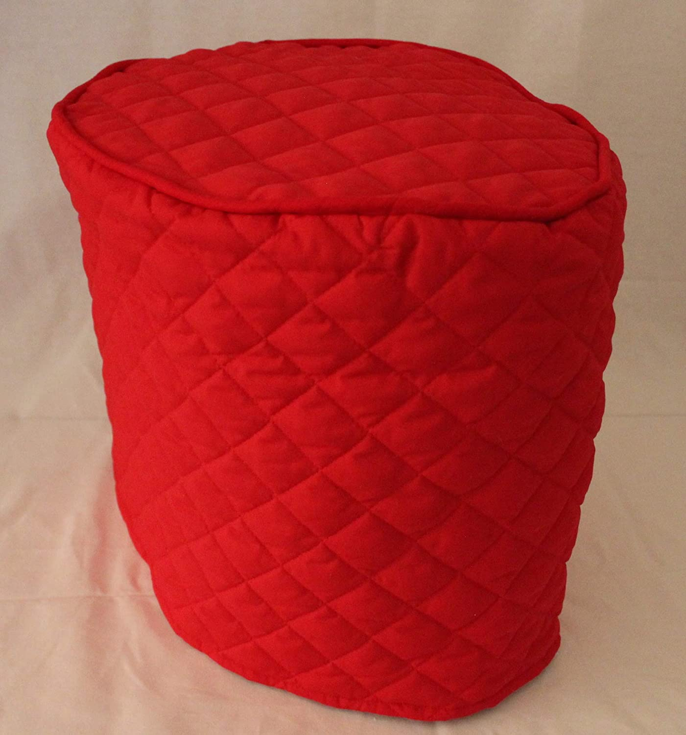 Simple Home Inspirations Quilted Cover Compatible with Instant Pot Pressure Cookers (3Qt, Red)
