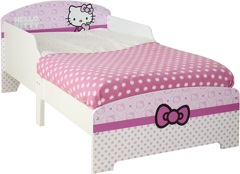 Worlds Apart 450HEK01 Hello Kitty - Cama infantil (para colchón de 140 x 70 cm)