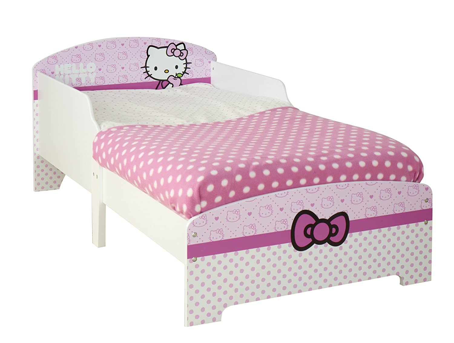 Hello Kitty Toddler Bed By HelloHome Amazoncouk Kitchen Home