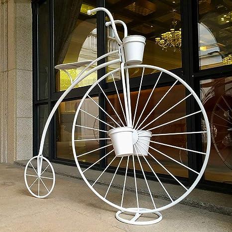 JIE Muebles Macetero Almacenamiento Estilo de bicicletas Estante ...