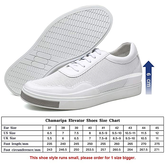 62fd83b48a Amazon.com | CHAMARIPA Men's Invisible Height Increasing Elevator Shoes-Breathable  Mesh Leather Sneakers-2.36 Inches Taller H71C26K175D | Fashion Sneakers