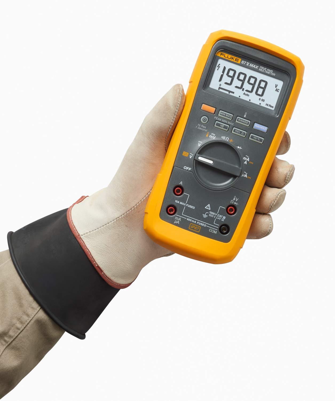 Fluke 87V//IMSK Industrial Digital Multimeter with Fluke i400 Clamp Meter Combo Kit