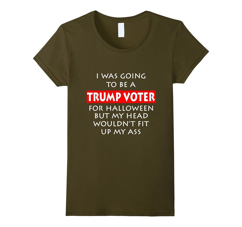 Trump Funny Halloween T Shirt Asphalt-Awarplus