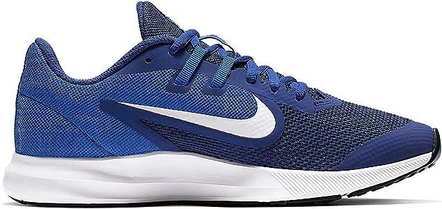 Nike Downshifter 9 (GS), Zapatillas de Running para Asfalto Unisex Niños, Multicolor (Deep Royal Blue/White/Game Royal/Black 400), 38.5 EU: Amazon.es: Zapatos y complementos