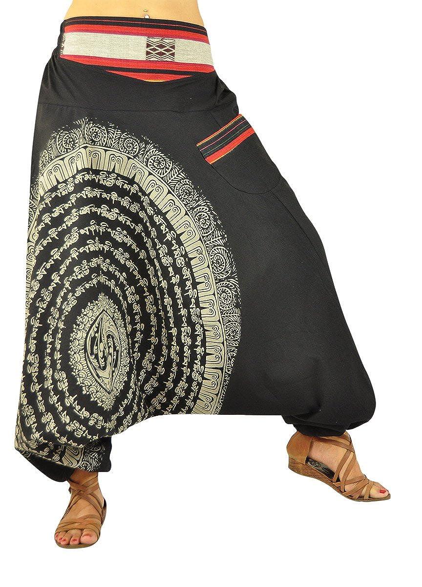 virblatt Pantalones Bombacho Mujer Yoga cagados como pantalón Chandal árabe - Nirvana: Amazon.es: Ropa y accesorios