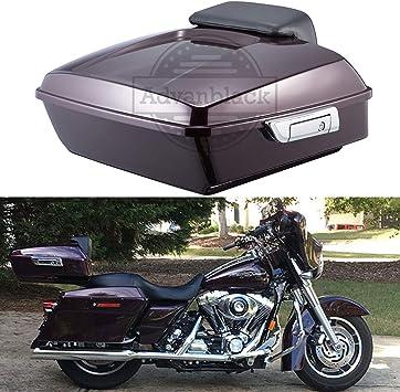 Motorcycle Tour Pack Trunk Metal Base Plate Kits For FLT FLHT FLHTCU FLHRC