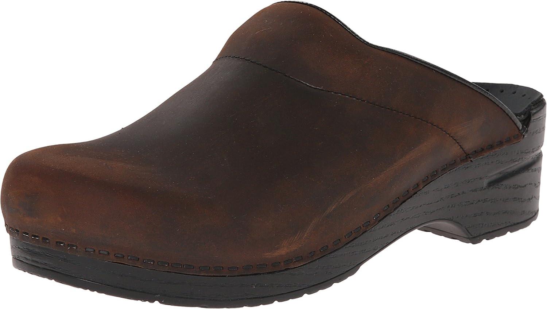 Dansko Men's Karl Oiled Leather Clog