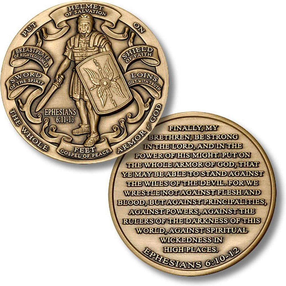 en promociones de estadios Armor of God High High High Relief Coin by Northwest Territorial Mint  ahorra 50% -75% de descuento