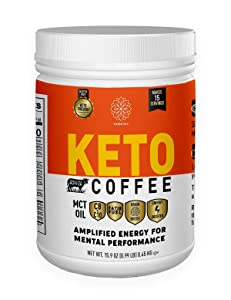 Harmony, Keto Coffee, Amplified Energy and Mental Performance, Instant Coffee Drink Mix, 16 OZ Tub, 15 Servings