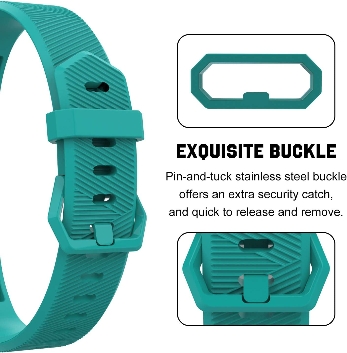 Soft Silicone Adjustable Replacement Band Fit Fitbit Alta//Alta HR//Ace for Kids TiMOVO Band Compatible with Fitbit Alta HR, 10-Pack Multi Color Small Size