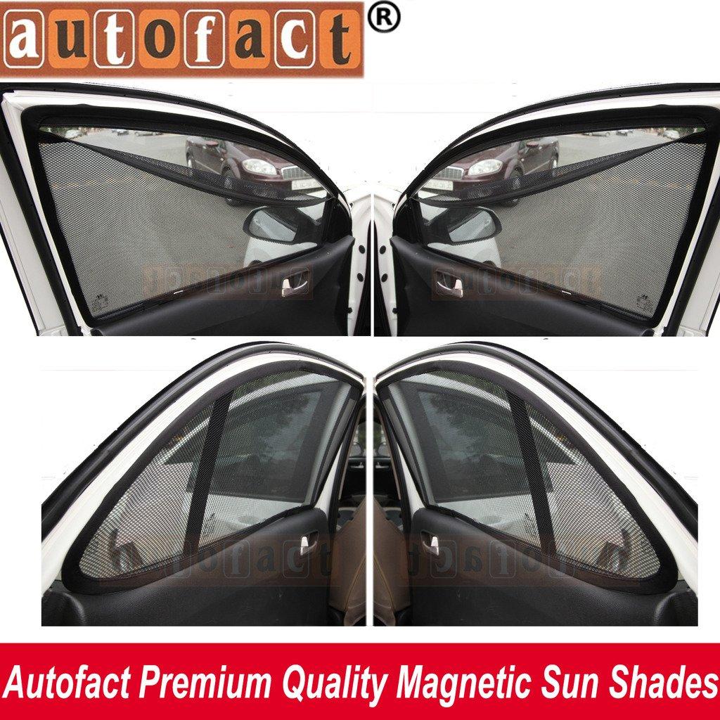 6ef7f343145 AUTOFACT Magnetic Window Sun Shades for Maruti Suzuki Baleno -Set of 4 -  with Zipper