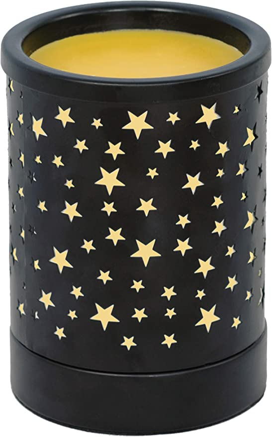 Amazon Com Notoc Metal Wax Melt Warmer Electric Wax Burner Melter Fragrance Warmer For Home Office Bedroom Living Room Gifts Decor Stars Home Kitchen The best wax melters heat evenly over the entire container surface to reduce uneven melting and make sure you have uniform wax viscosity. notoc metal wax melt warmer electric wax burner melter fragrance warmer for home office bedroom living room gifts decor stars