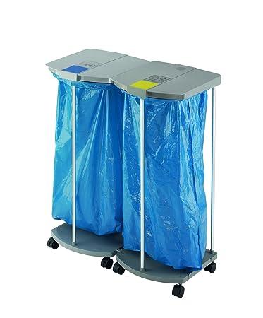 Amazon.com: Hailo 0924-210 ProfiLine WS 120 - Cubo de basura ...