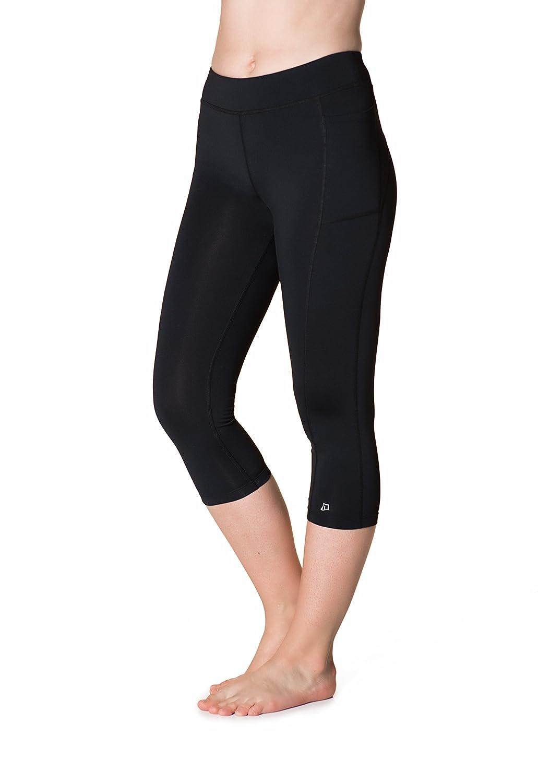 Black Skirt Sports Womens Cool it Capri Pant