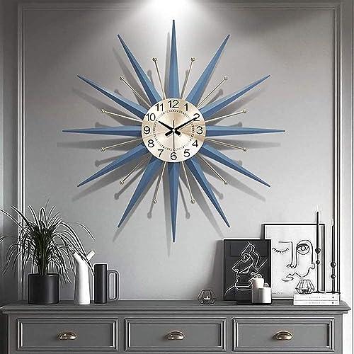 27in Mid Century Wall Clock