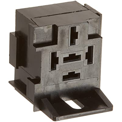 HELLA H84989011 5 Terminal Mini Relay Socket - Bracket: Automotive