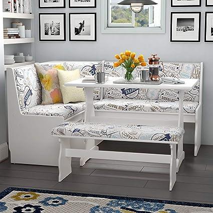 Amazon Com Simple Interior 3 Piece Dining Set 1 Corner