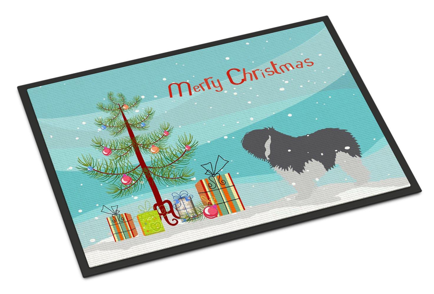 Carolines Treasures English Setter Merry Christmas Tree Indoor or Outdoor Mat 24x36 BB2899JMAT 24 x 36 Multicolor