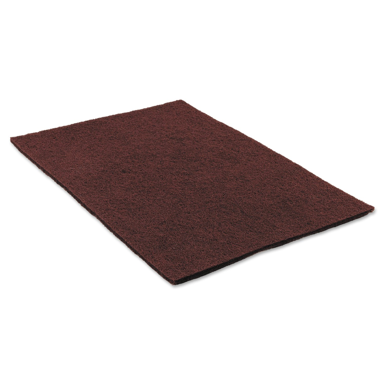 "3m SPP20 Surface Preparation Pad 20/"" 10 Per Carton Maroon"