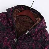 Caopixx Women Outwear Winter Jacket Warm Vintage
