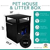 Sweet Barks Nightstand Pet House, Litter Box