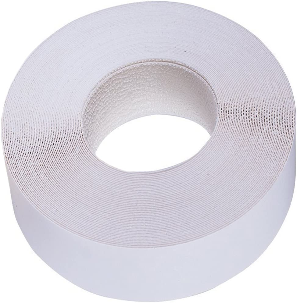 "Edge Supply Polyester White Melamine 2"" X 50 ft Roll of Ultra Flexible, Strong and Durable White Edge Banding, Easy Application Iron-On with Hot Melt Adhesive for Furniture Restoration. Made in USA"