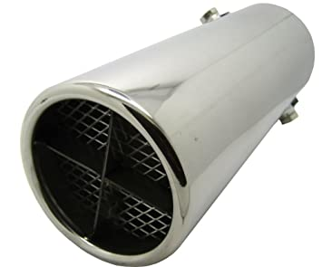 XtremeAuto® - Embellecedor deportivo universal para tubo de escape de 64 mm, ajuste universal de 35-50 mm: Amazon.es: Coche y moto