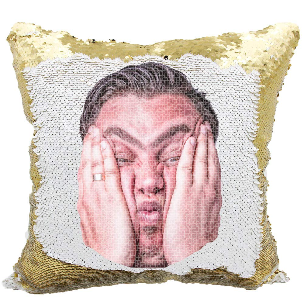 1a0d7186912 Amazon.com  Picture Sequin Pillow