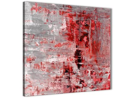 Abstract 1427-120cm Print Purple Grey Painting Bedroom Canvas Accessories