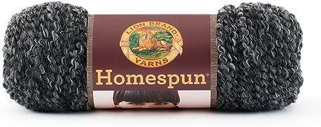3Pk Lion Brand 790-312 Homespun Yarn-Edwardian