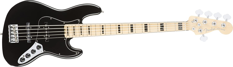 Fender American Elite Jazz Bass Black