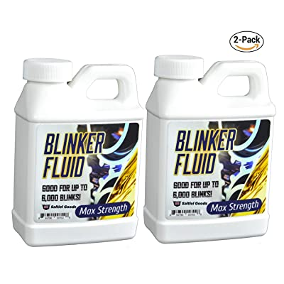 Saltiel Goods Blinker Fluid-Hand HELD Version-Hilarious Gag Gift-Car Prank-8 oz Bottle-2 Pack: Toys & Games