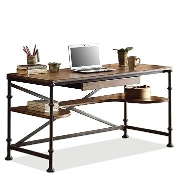 Amazoncom Casual Contemporary Writing Desk Kitchen Dining - Contemporary writing desk furniture