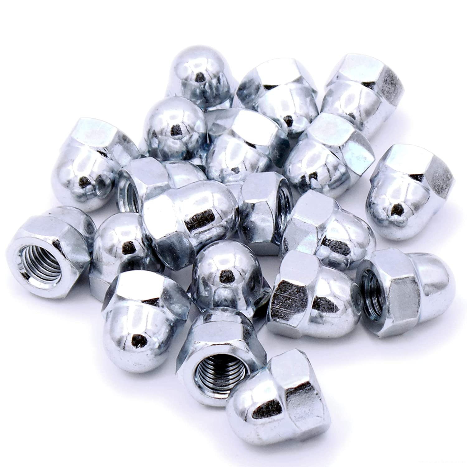 Pack of 8 Dome Cap Nut 12mm M12 Steel